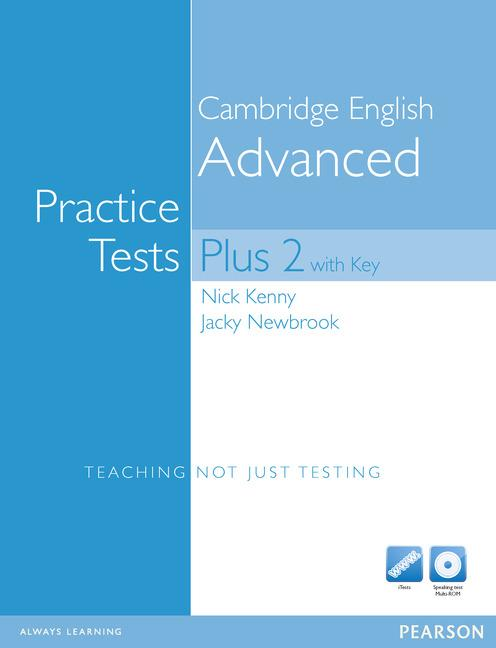 CAE Practice Tests Plus 2 New Edition Book (with Key) and Multi-ROM