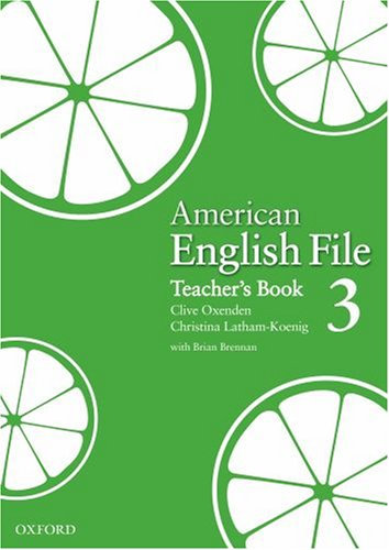 American English File 3 Teacher's Book