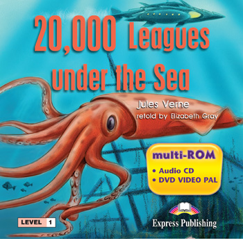 Graded Readers Level 1 20,000 Leagues Under the Sea multi-ROM (Audio CD / DVD Video PAL)