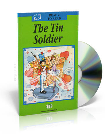ELi Readers Green Series: (A1) Tin Soldier with CD