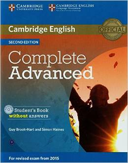 Complete Advanced 2nd edition (for revised exam 2015) Student's Book Pack (Student's Book with Answers with CD-ROM and Class Audio CDs (2))