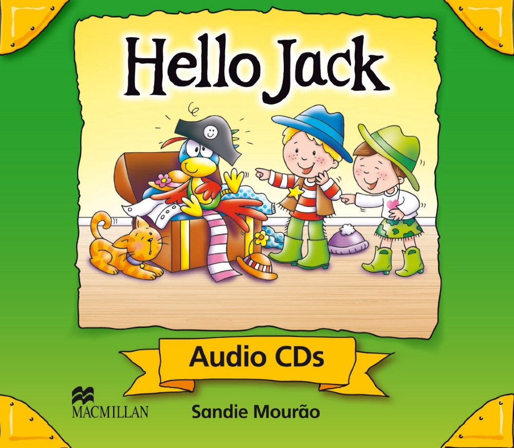 Hello Jack Audio CD's