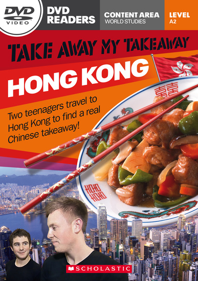 Scholastic DVD Readers Level 2: Take Away My Takeaway: Hong Kong with DVD