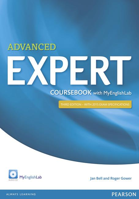 Expert Advanced Third Edition Coursebook with Audio CD and MyEnglishLab