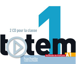 Totem 1 (A1) CD audio pour la classe (Лицензия)