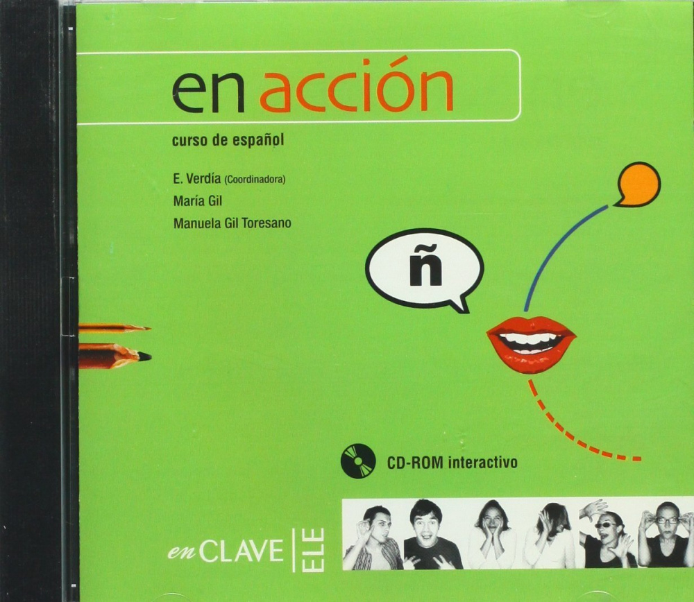 En accion 1 y 2 CD-ROM interactivo