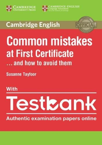 Common Mistakes at First Certificate… and How to Avoid Them Paperback with Testbank