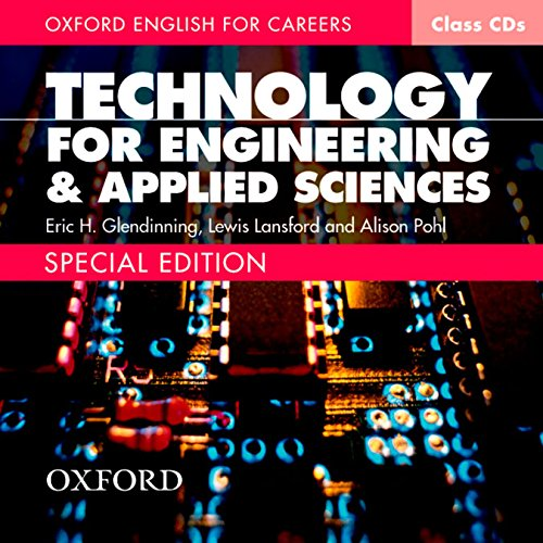 Oxford English for Careers: Technology for Engineering and Applied Sciences Class Audio CD