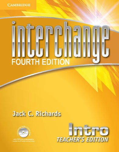 Interchange Fourth Edition Intro Teacher's Edition with Assessment Audio CD/CD-ROM