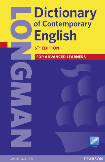 Longman Dictionary of Contemporary English 6th Edition Cased & Online access
