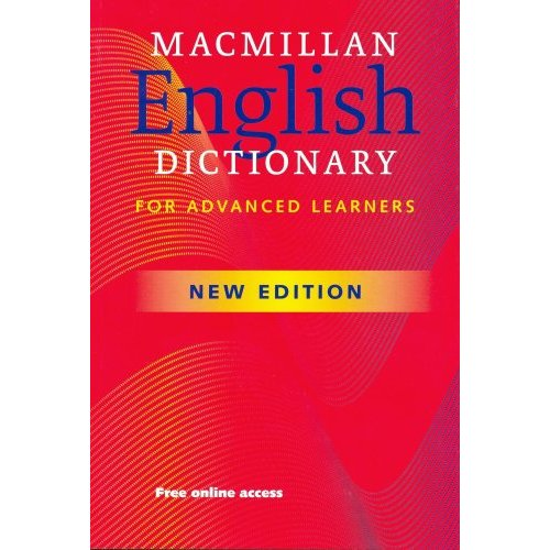 Macmillan English Dictionary for Advanced Learners (New Edition) Paperback