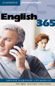 English365 Level 1 Personal Study Book with Audio CD