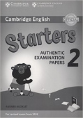 Cambridge English (for Revised Exam from 2018) Starters 2 Answer Booklet