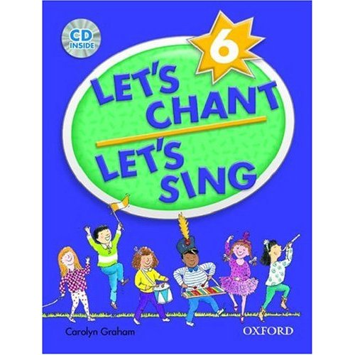 Let's Chant, Let's Sing 6 Student Book with Audio CD