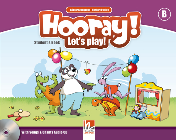 Hooray! Let's Play! Level B Students Book