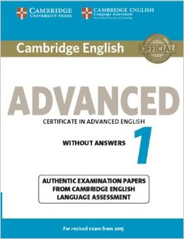Cambridge English Advanced 1 (for revised exam 2015) Student's Book without Answers