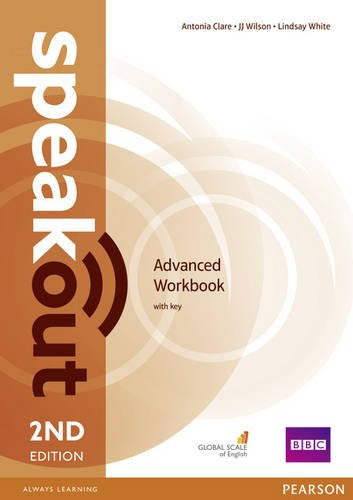 Speakout Second Edition Advanced Workbook with Key