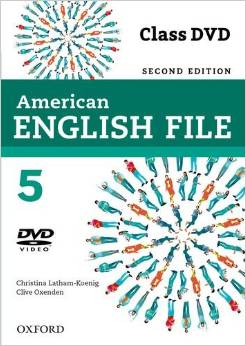 American English File Second edition Level 5 Class DVD