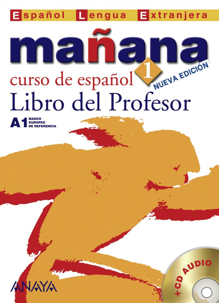 Manana 1. Libro del Profesor + CD Audio
