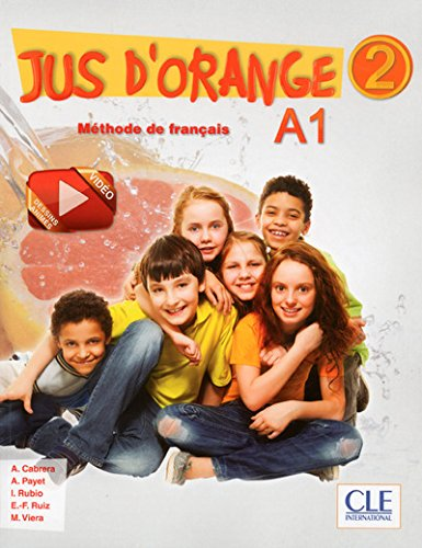 Jus d'orange 2 - Livre d'eleve + DVD