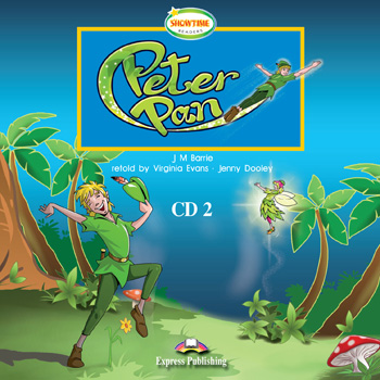 Showtime Readers  Level 1  Peter Pan Audio CD CD2