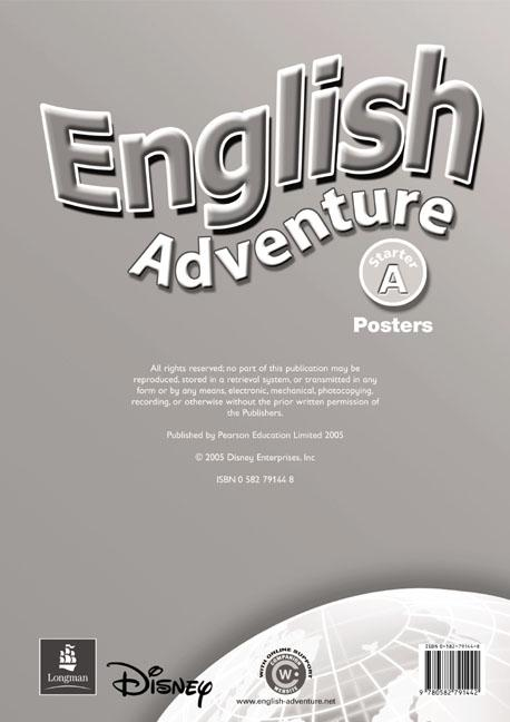English Adventure Starter A Posters