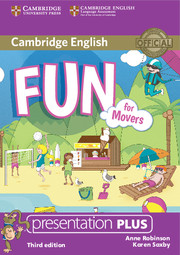 Fun for Movers 3rd Edition Presentation Plus DVD-ROM