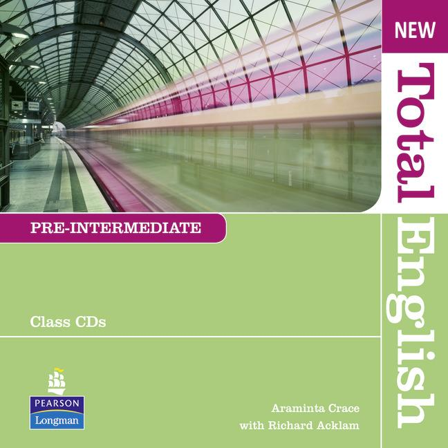 New Total English Pre-intermediate Class Audio CDs (Лицензия)
