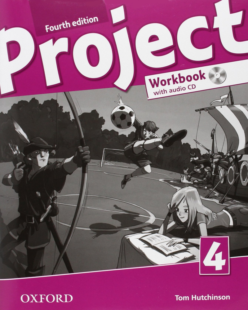 Project Fourth Edition 4 Workbook with Audio CD and Online Practice