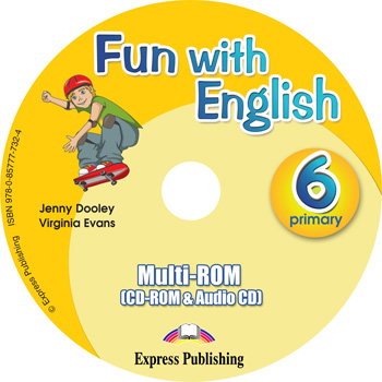 Fun with English 6. Primary. multi-ROM (CD-ROM & Audio CD )