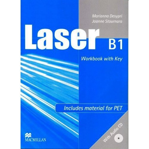 Laser B1 Workbook With Key (+ Audio CD)