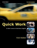 Quick Work Pre-Intermediate: Student's Book
