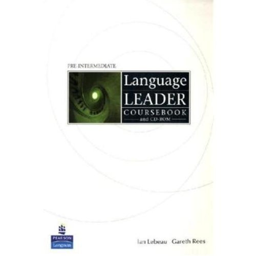 Language Leader Pre-Intermediate Coursebook + CD-ROM