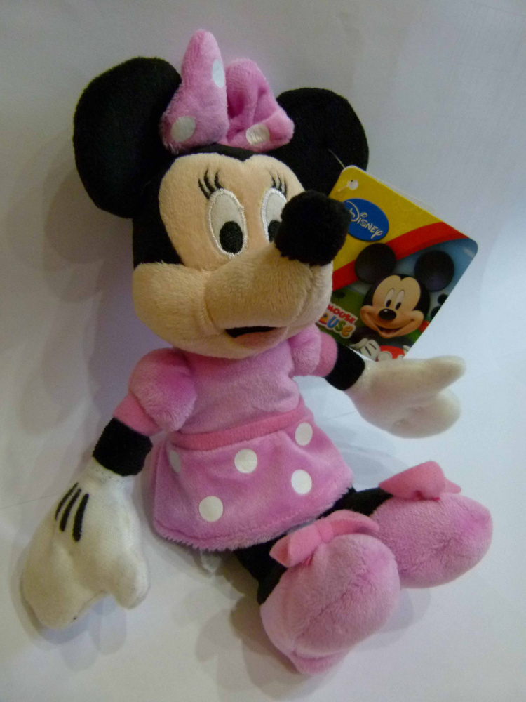 New English Adventure Minnie Mouse puppet