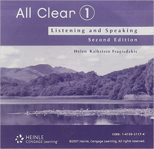 All Clear 1 Student's Audio CD(x1)