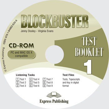 Blockbuster 1 Test Booklet CD-ROM
