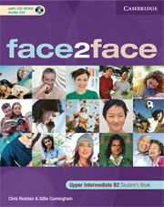 face2face Upper-Intermediate Student's Book with CD-ROM/Audio CD