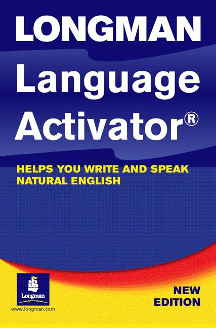 Longman Language Activator 2nd Edition Cased