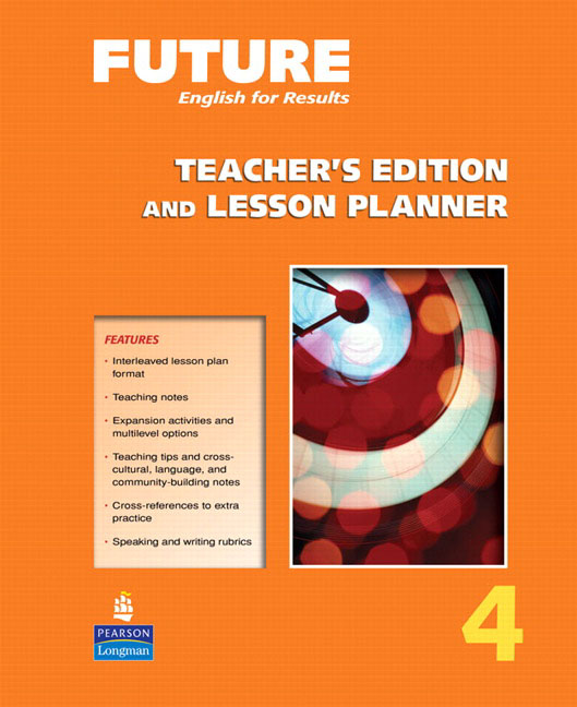 Future 4 Teacher's Edition and Lesson Planner