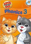 Let's Go Third edition 3  Phonics Book with Audio CD Pack