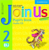 Join Us for English 2 Pupil's Book Audio CD