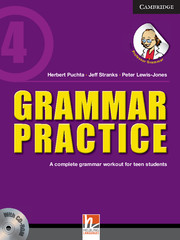 Grammar Practice Level 4 Paperback with CD-ROM