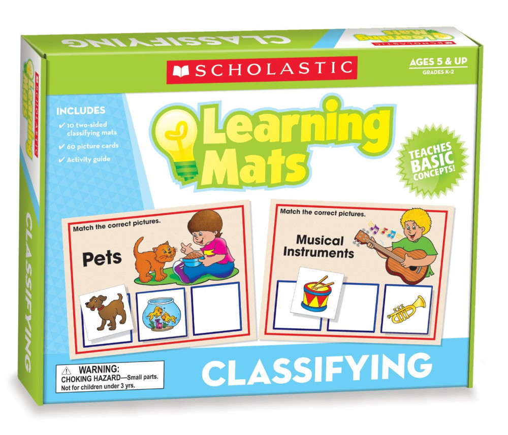 Learning Mats: Classifying