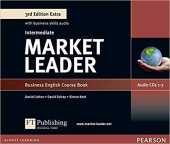 Market Leader 3rd Edition Extra Intermediate Class CDs (3)