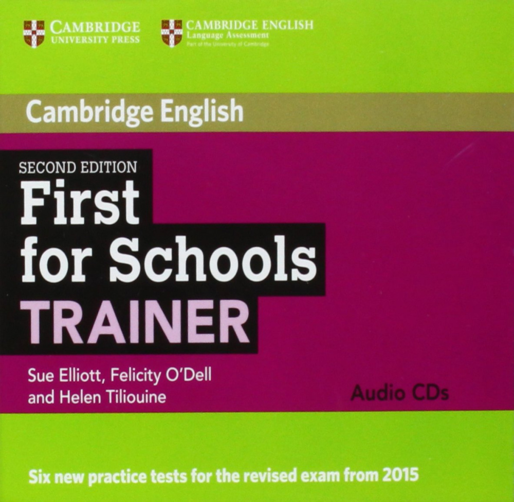 First for Schools Trainer Second Edition (for revised exam 2015) Audio CDs (3)