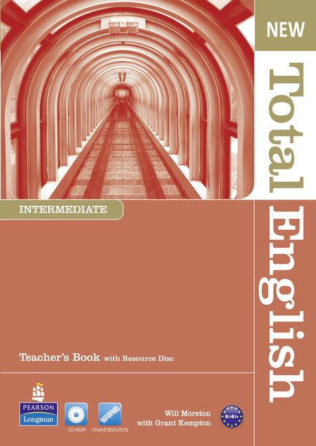 New Total English Intermediate Teacher's Book (with Resource Disc)