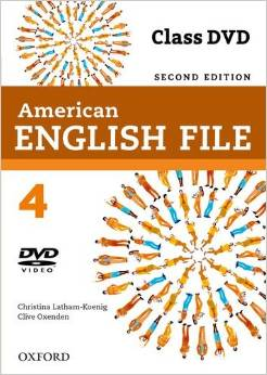 American English File Second edition Level 4 Class DVD