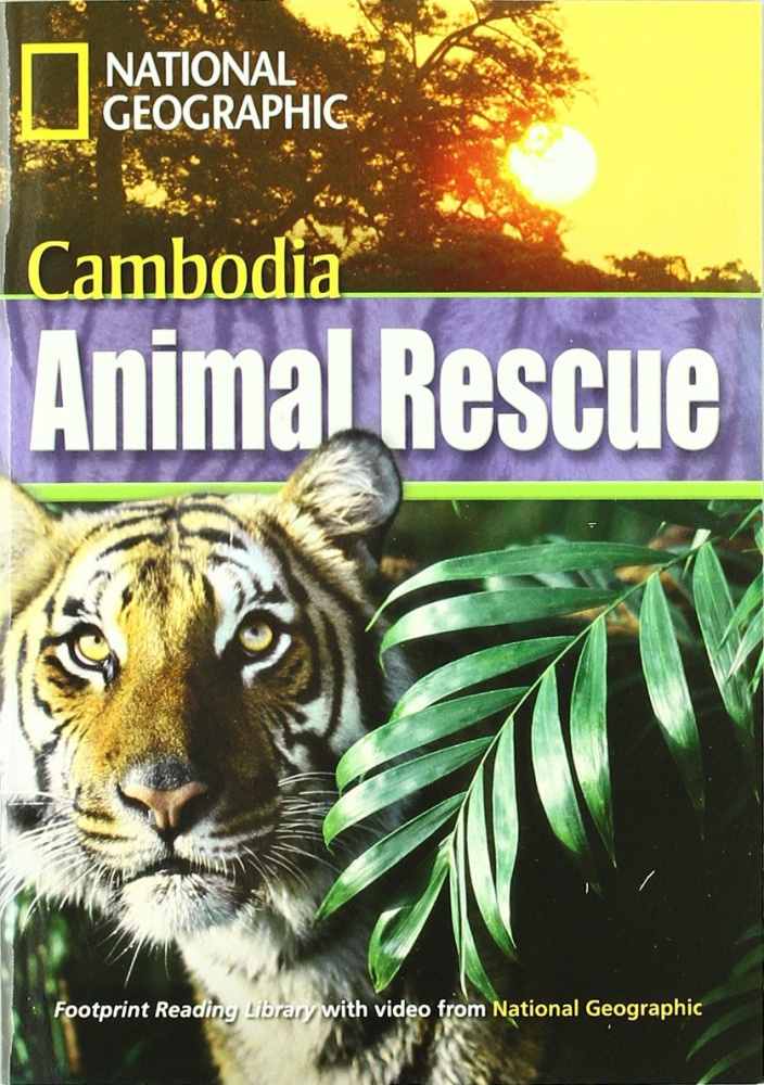 Fotoprint Reading Library B1 Cambodia Animal Rescue with CD-ROM