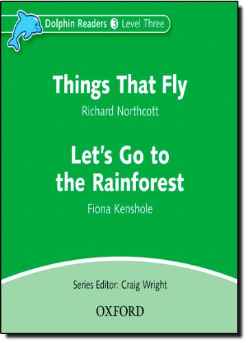 Dolphin Readers 3 Things That Fly & Let's Go to the Rainforest - Audio CD