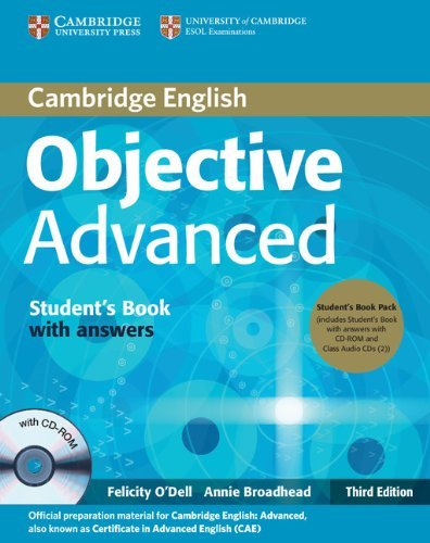Objective Advanced (Third Edition) Student's Book Pack (Student's Book with answers with CD-ROM and Class Audio CDs (2))